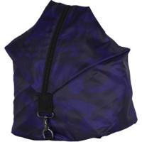Gym Sack Oxer Back - Azul Escuro