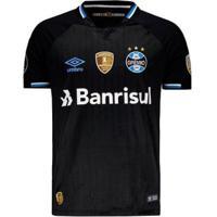 Camisa Umbro Grêmio Iii 2018 Libertadores Masculina - Masculino