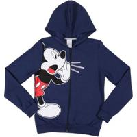 Jaqueta Disney Juvenil Para Menino - Azul