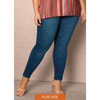 Calça Azul Escuro Skinny Jeans