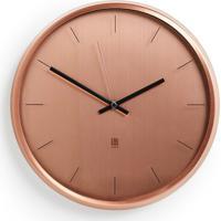 Relógio De Parede Meta 31 Cm Cobre Umbra