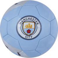 Bola De Futebol De Campo Manchester City Mundial Sportcom - Azul Claro/Preto