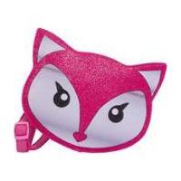 Bolsa Infantil Princesa Pink Bolsa Raposa Glitter - Feminino-Rosa