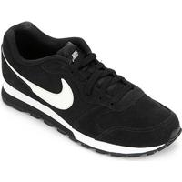 Tênis Nike Md Runner 2 Suede Masculino - Masculino-Preto+Grafite