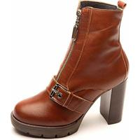 Bota The Box Project Dance Floor Feminina - Feminino-Marrom