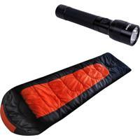 Lanterna Tática Hunter 160 Lumens + Saco Dormir Cocoon -5ºc A 20ºc Echolife