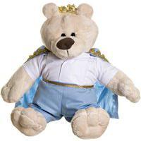 Urso Príncipe Potinho De Mel Azul