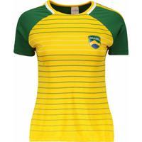 Camisa Brasil Tapajós Feminina - Feminino