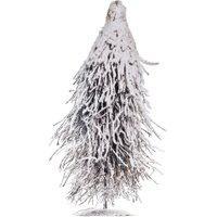 Árvore Natal Pinheiro Rústico Galhos Nevados 40Cm 1 Unidade