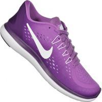 Tenis Nike Feminino Cinza Roxo - MuccaShop 5e99fe2851c5f
