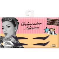 Delineador Adesivo - That Girl 2 Pares - Feminino-Incolor