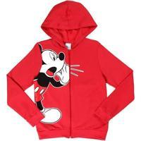 Jaqueta Disney Juvenil Para Menino - Vermelho
