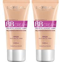 Kit Bb Cream L'Oreál Paris Dermo Expertise Base Média 30Ml 2 Unidades - Feminino-Incolor