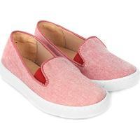 Slip On Infantil Shoestock Tecido Feminino - Feminino