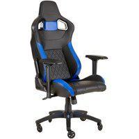 Cadeira Gamer Corsair T1 Race Preta/Azul - Cf-9010014