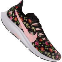 Tênis Nike Air Zoom Pegasus 36 Vf Gs - Feminino - Preto/Rosa