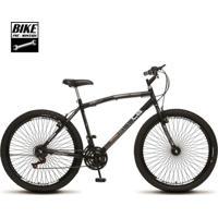 Bicicleta Colli Mtb Cb500 Aro 26 72 Raias 21 Marchas Freios Vbrake - Unissex