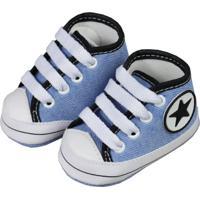 Tênis Cano Alto De Bebê Jeans Star Jeans - Kanui