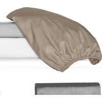 Porta Travesseiro 150 Fios Juma 01 Peça - Cáqui