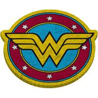 Capacho Warner Bross® Wonder Woman®- Amarelo & Vermelho Urban