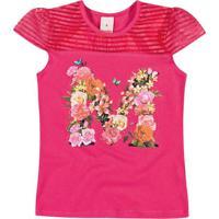 Blusa Floral- Rosa & Rosa Claro- Marisolmarisol