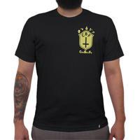 Cbf (Brasão Amarelo) - Camiseta Clássica Masculina