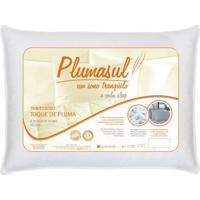 Travesseiro Fibra Siliconizada-Toque De Pluma-50X70