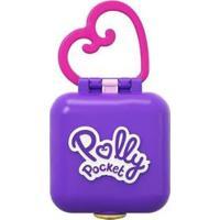 Boneca Polly Pocket Mini Estojo Com Acessórios - Feminino-Colorido