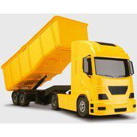 Caminhão De Areia Brinquedo Caçamba Basculante Amarelo
