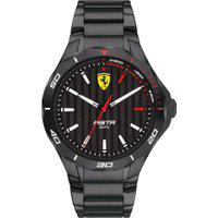 Relógio Scuderia Ferrari Masculino Aço Preto - 830763