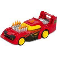 Carrinho Roda Livre - Hot Wheels - Road Rippers - Flame - Vermelho - Dtc