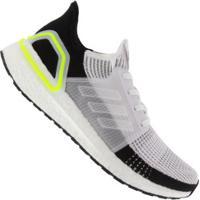 Tênis Adidas Ultraboost 19 - Masculino - Branco/Cinza Claro