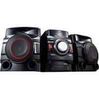 Mini System Lg Dual Usb Mp3 Multi Bluetooth 440W Cm4450 Preto