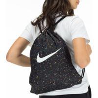 Gym Sack Nike Gfx - Preto