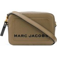 Marc Jacobs Bolsa Transversal The Box - Marrom