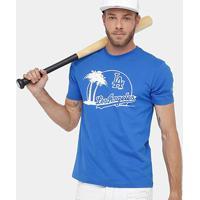 Camiseta Mlb Los Angeles Dodgers New Era 10 City Masculina - Masculino-Azul Royal