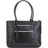 f960cef63 ... Bolsa Chenson Shopper Estruturada Feminina - Feminino-Preto