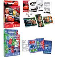 Kit De Jogos - Dominó De Cartas Para Colorir E Jodo Da Memória Para Colorir - Copag