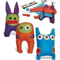 Bonecos Eu Faço Toy Art Alegria Sem Bateria Colorido