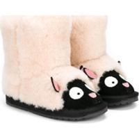 Emu Kids Bota 'Ovelha' - Branco