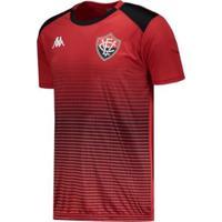 Camisa Kappa Vitória Concentração 2019 - Masculino