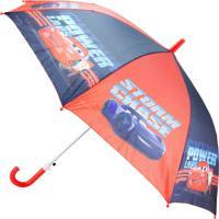 Guarda Chuva Carros®- Vermelho & Azul Marinho- 67,5Xetilux