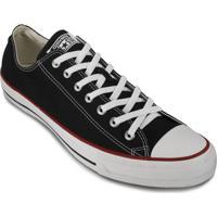 Tênis Converse All Star Masculino - Masculino-Preto+Vermelho