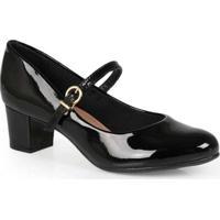 Sapato Salto Boneca Feminino Conforto Beira Rio En