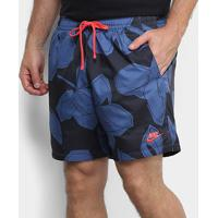 Short Nike Ce Woven Flow Floral Masculino - Masculino