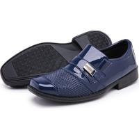 Sapato Social Masculino Schiareli Infantl Azul