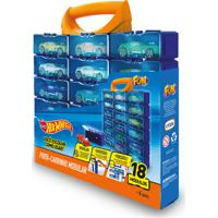 Porta 18 Carrinhos Modulares Hot Wheels Fun Divirta-Se