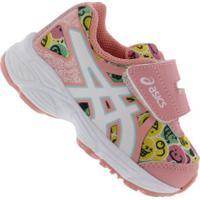 Tênis Para Bebê Asics Sugar Baby 3 Ts - Infantil - Rosa Cla/Branco
