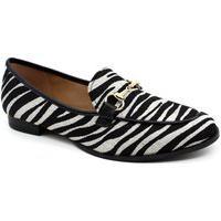 Sapato Oxford Nina Menina 510-533 Zebra Preto