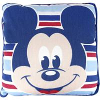 Travesseiro Infantil Disney Mickey - Masculino-Azul